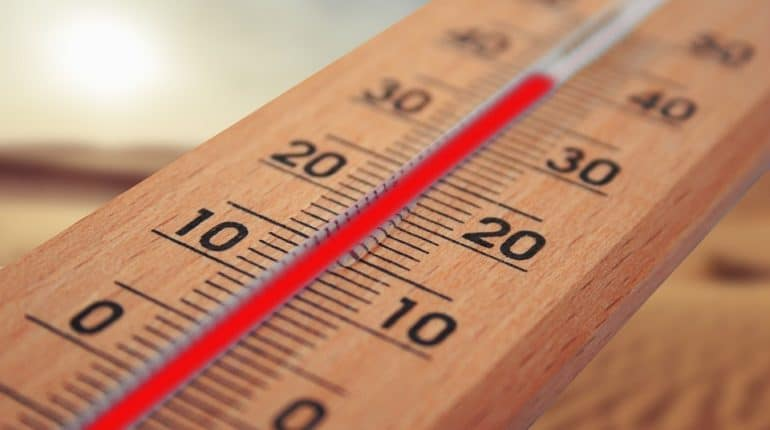 thermomètre canicule 2019 +40°C
